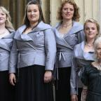 Hampshire Chronicle: Dame Vivienne Westwood gives female choir a fashionable makeover