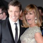 Hampshire Chronicle: Cheeky Ben Shephard pulled fully-clothed Kate Garraway into an ice bath on GMB