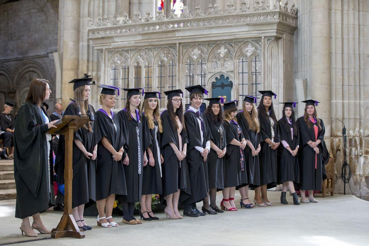 Sparsholt College students celebrated a special graduation in ...