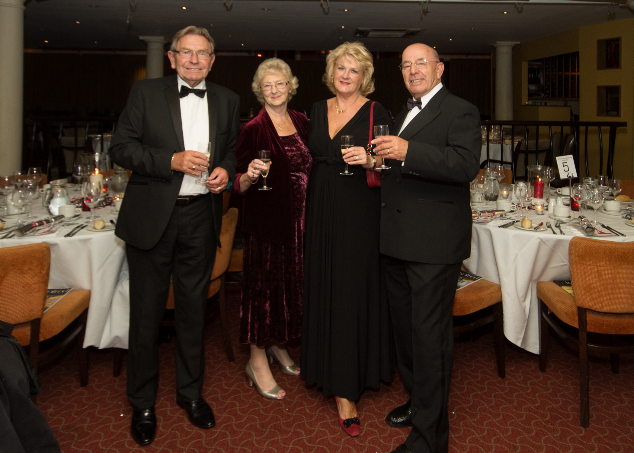 ABBA Dance and Dine, British Red Cross Hampshire Ball
