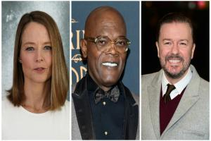 Jodie Foster, Samuel L Jackson and Ricky Gervais among stars to be honoured at Britannia Awards in LA