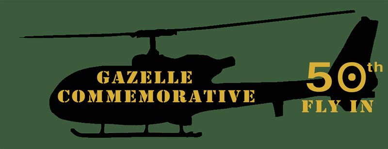 Gazelle 50th Anniversary Commemorative Fly-in