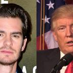 Hampshire Chronicle: Donald Trump needs a kiss to calm down, actor Andrew Garfield says