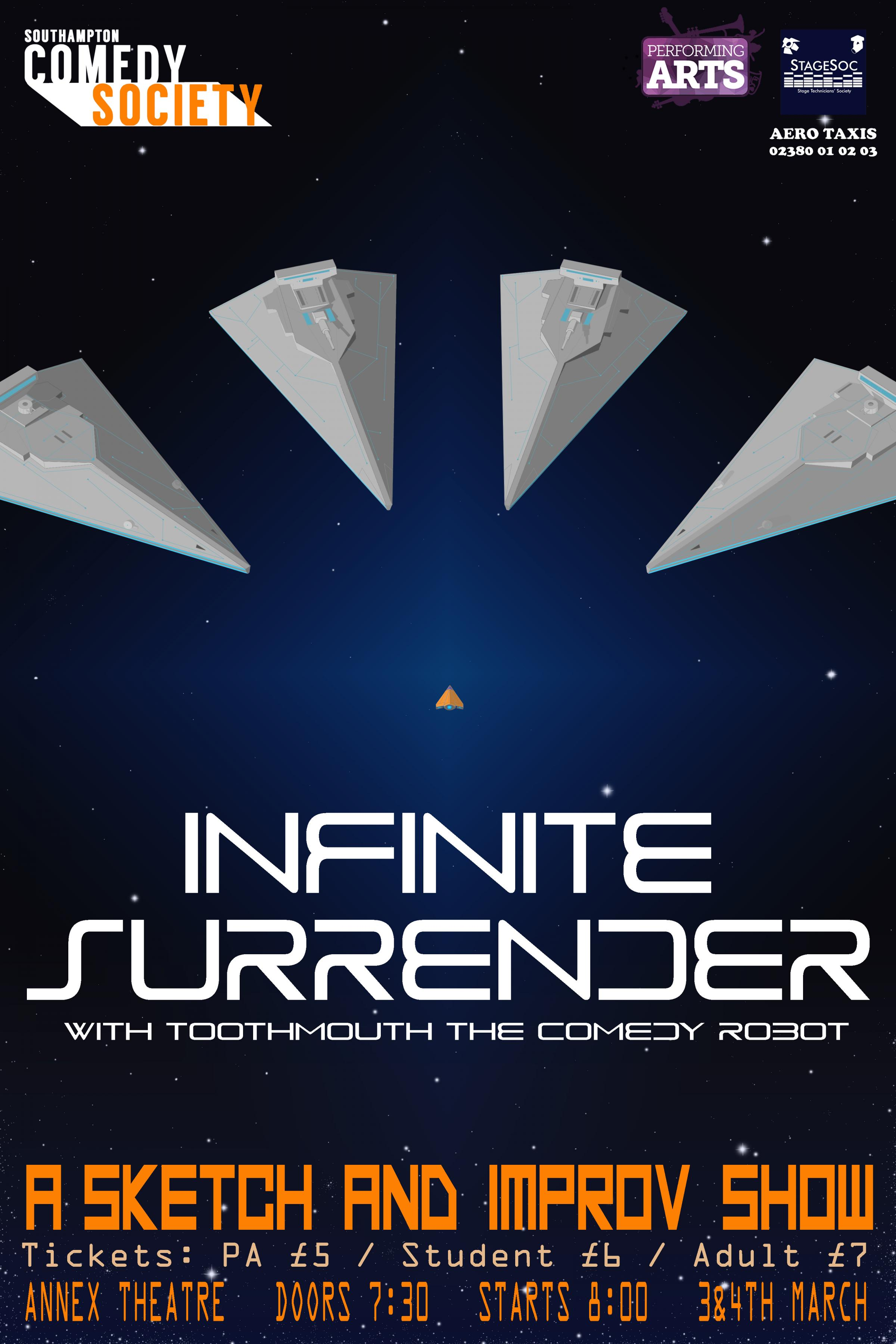 Infinite Surrender: A Comedy Sketch and Improv Show