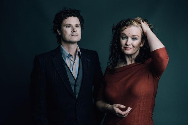 Kathryn Roberts and Sean Lakeman. Photo Matt Austin