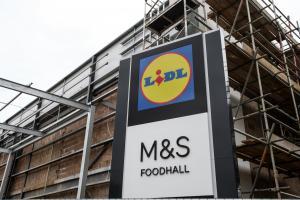Photo Stuart Martin - new M&S Marks and Spencer Foodhall under construction in Twyford Road Eastleigh.