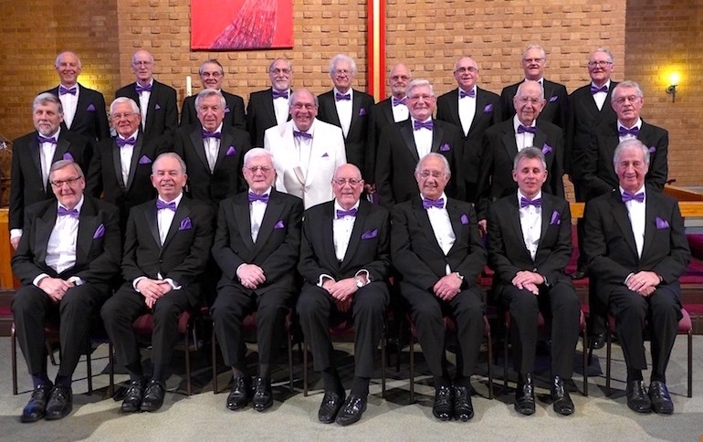 'Bourne2Sing' Male Voice Choir Concert