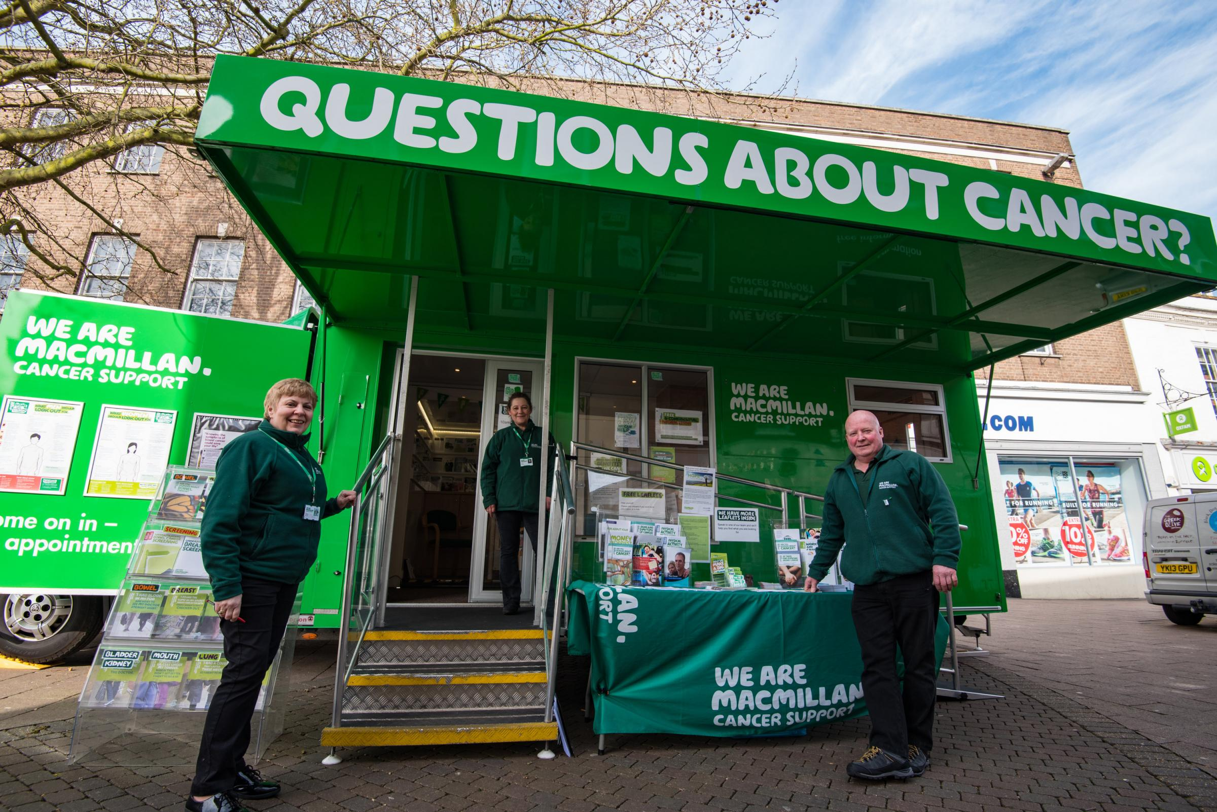 Macmillan Cancer Support Information Service in Alton