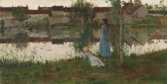 Le Passeur by William Stott of Oldham which comes to Southampton City Art Gallery in 2018