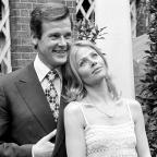 Hampshire Chronicle: Bond girl Britt Ekland says her 'Bond is gone' as Sir Roger Moore dies age 89