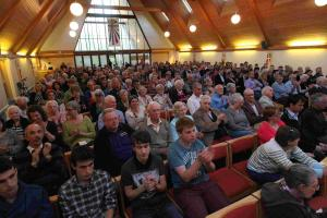 Election hustings for seat of Winchester and Chandler's Ford, held at Chandler's Ford Methodist Church, Winchester Road, Chandler's Ford          Wednesday 22nd April 2015