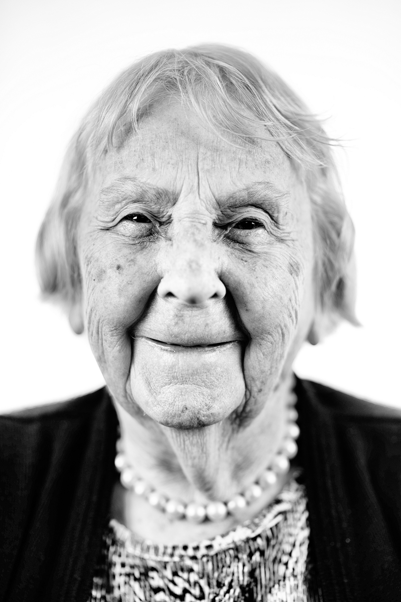 Phyllis, aged 93. Photo: Joe Low