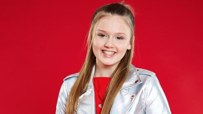 Jess Folley, winner of the first series of The Voice Kids UK