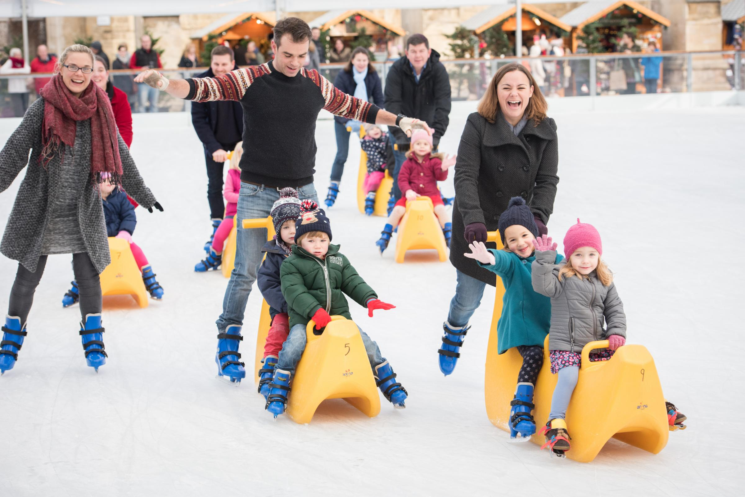 Tickets on sale for Cathedral ice rink