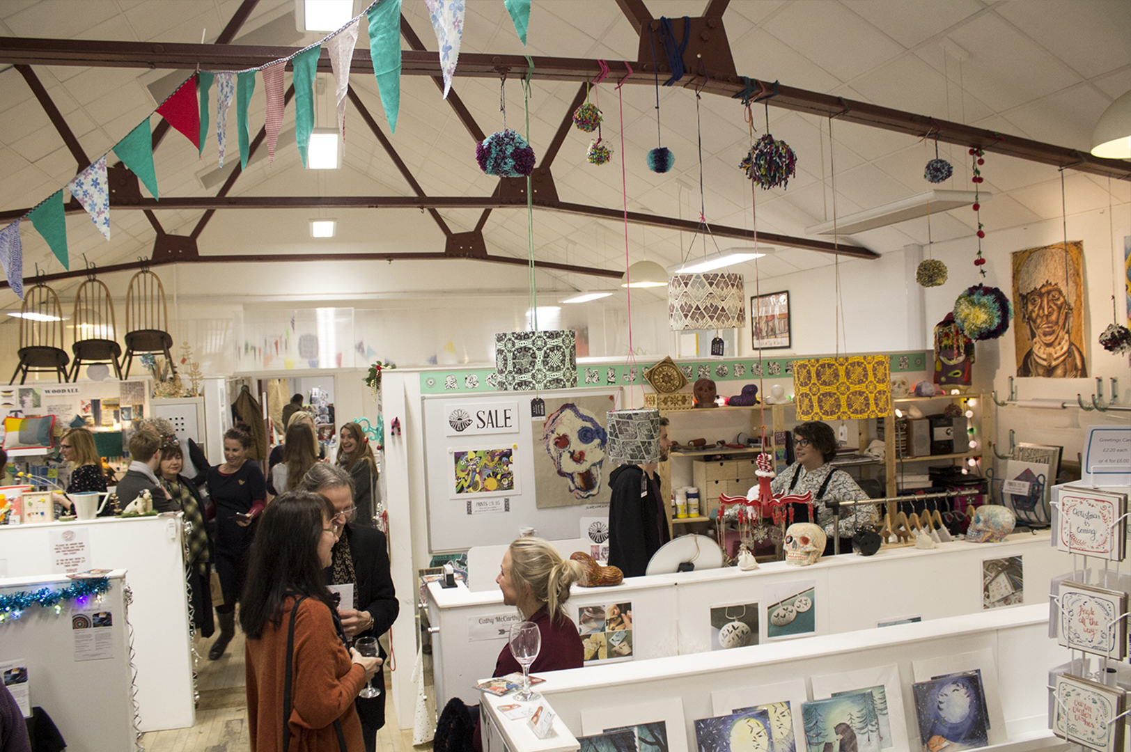 Winter Open Studios 2017 at The Sorting Office