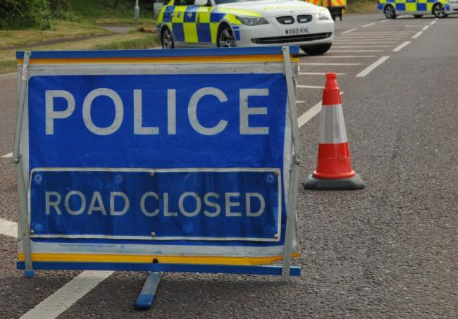 Major road closed by road crash near Winchester