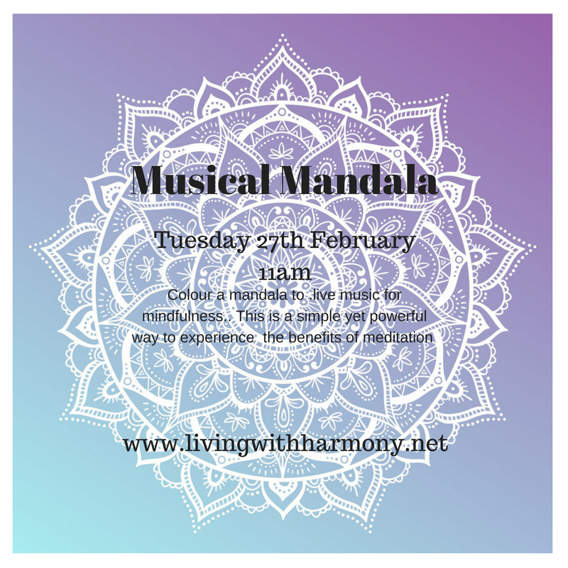 Living with Harmony Musical Mandala Taster Session