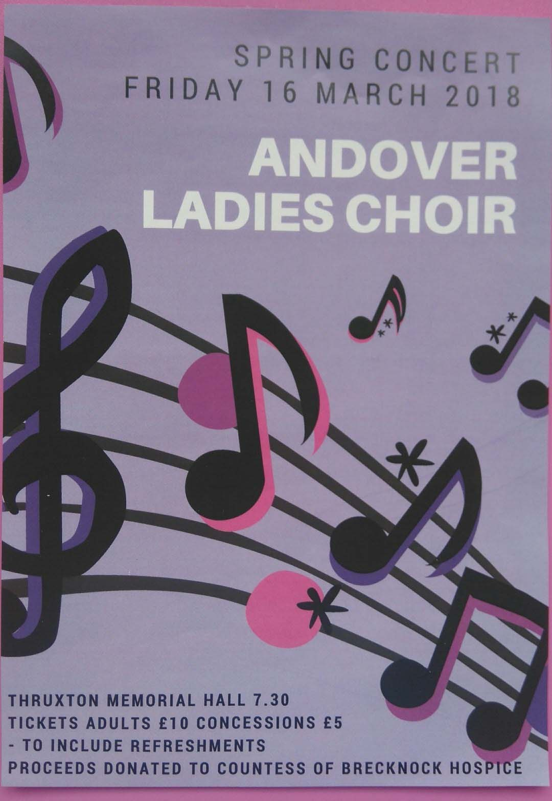 Andover Ladies Choir Spring Concert