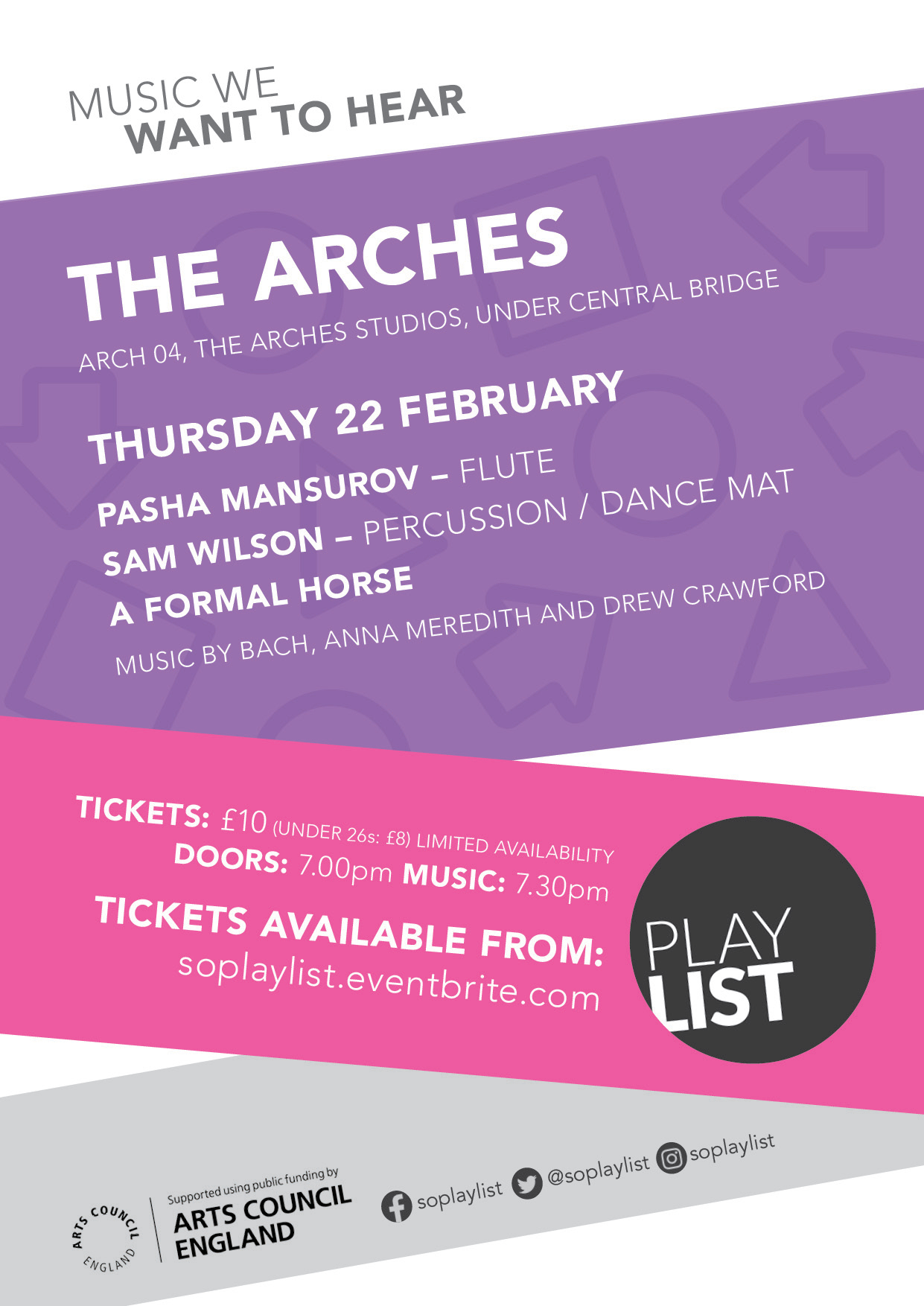 PLAYLIST: The Arches