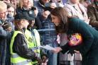 The Duchess of Cambridge visiting Sunderland (Jane Barlow/PA)
