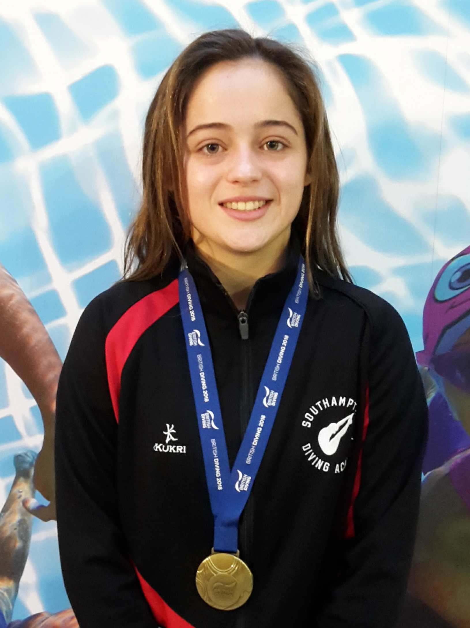 Lucy Hawkins, British national junior 10m platform champion