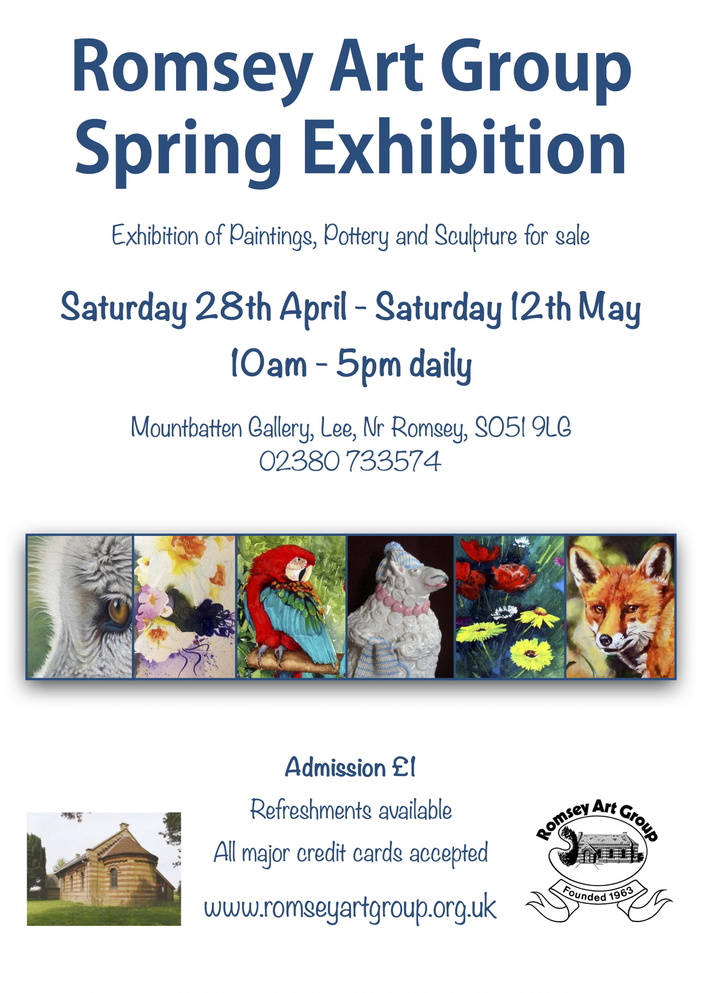 Romsey Art Group Spring Exhibition