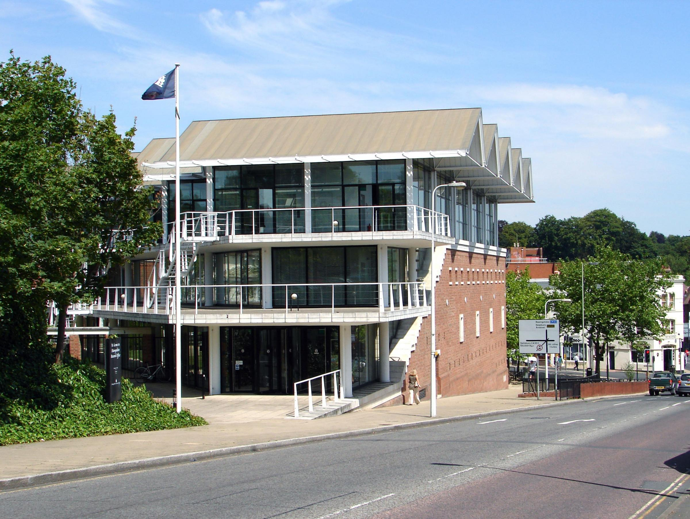 Hampshire Record Office in Winchester