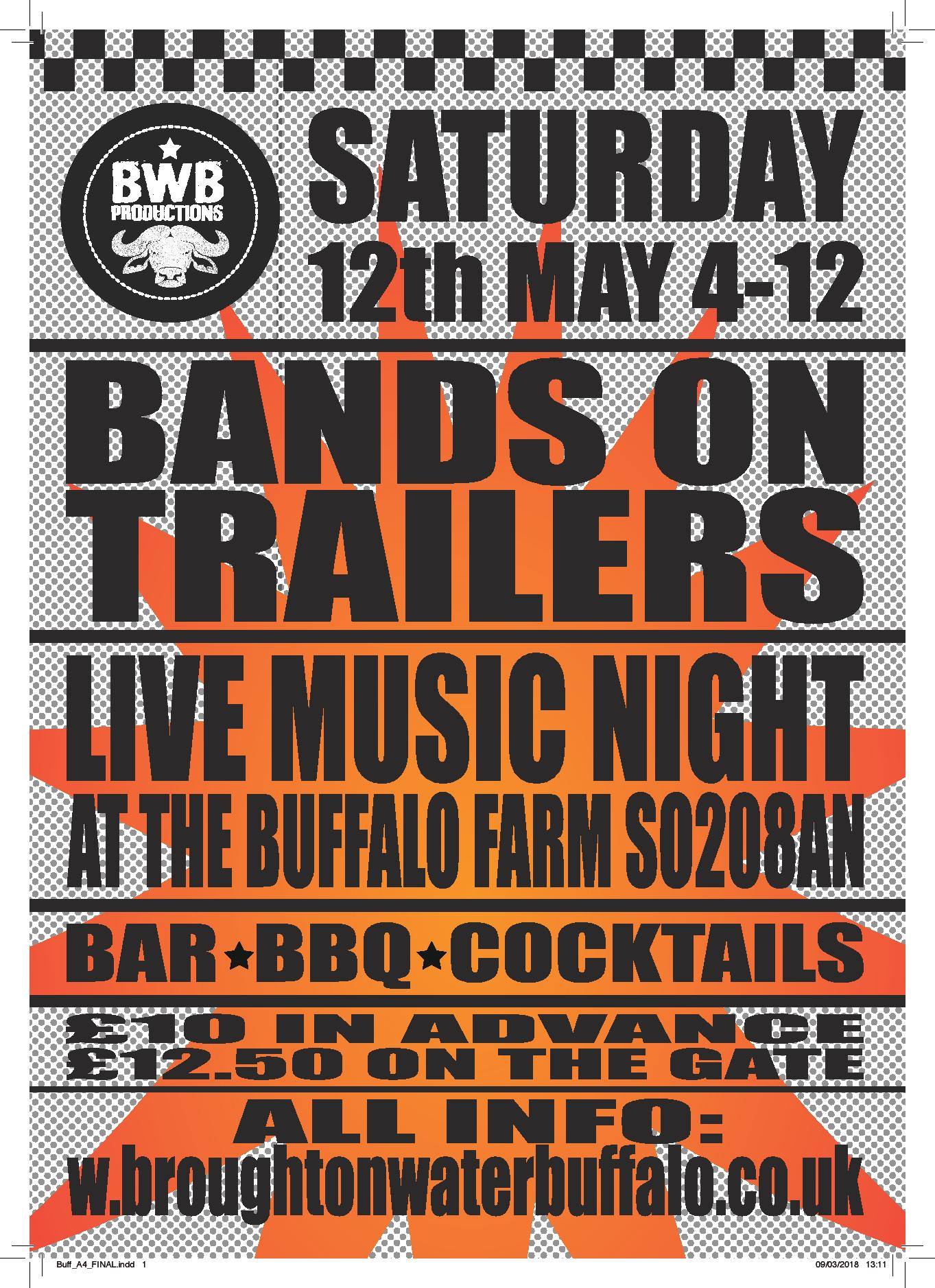 Bands on Trailers - Music Night