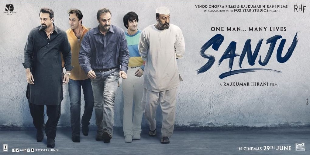 Many Lives of Sanjay Dutt are revealed in 'SANJU': In Cinemas 29 June 2018