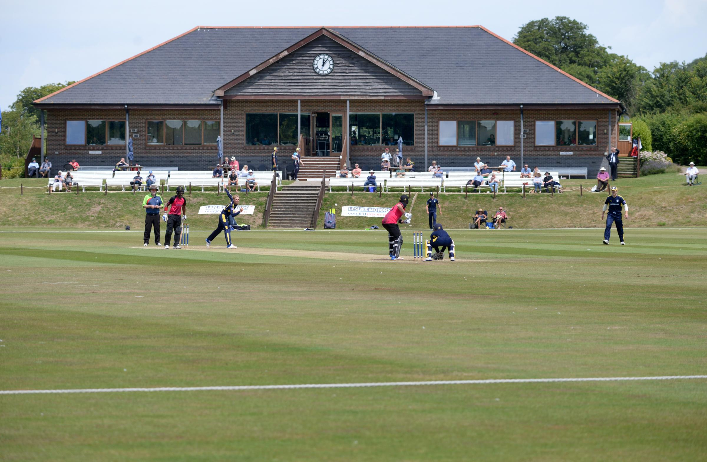 A Hampshire 2nds match against Sussex at Newclose last year