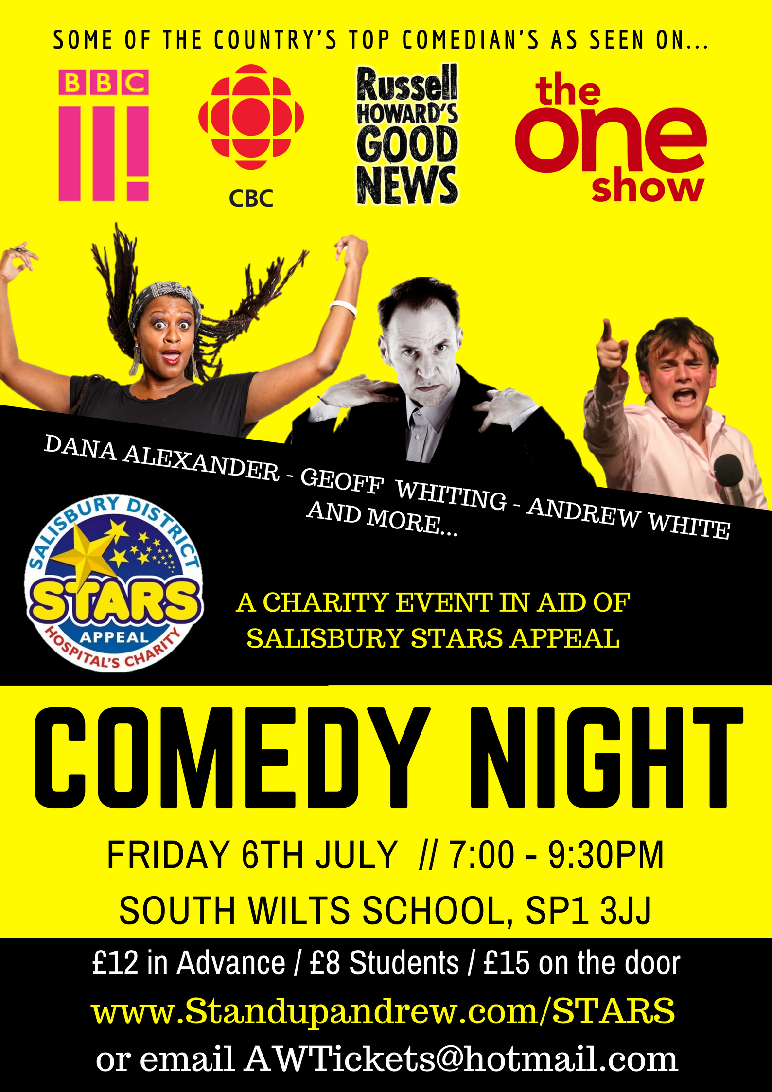 STARS Appeal Comedy Night