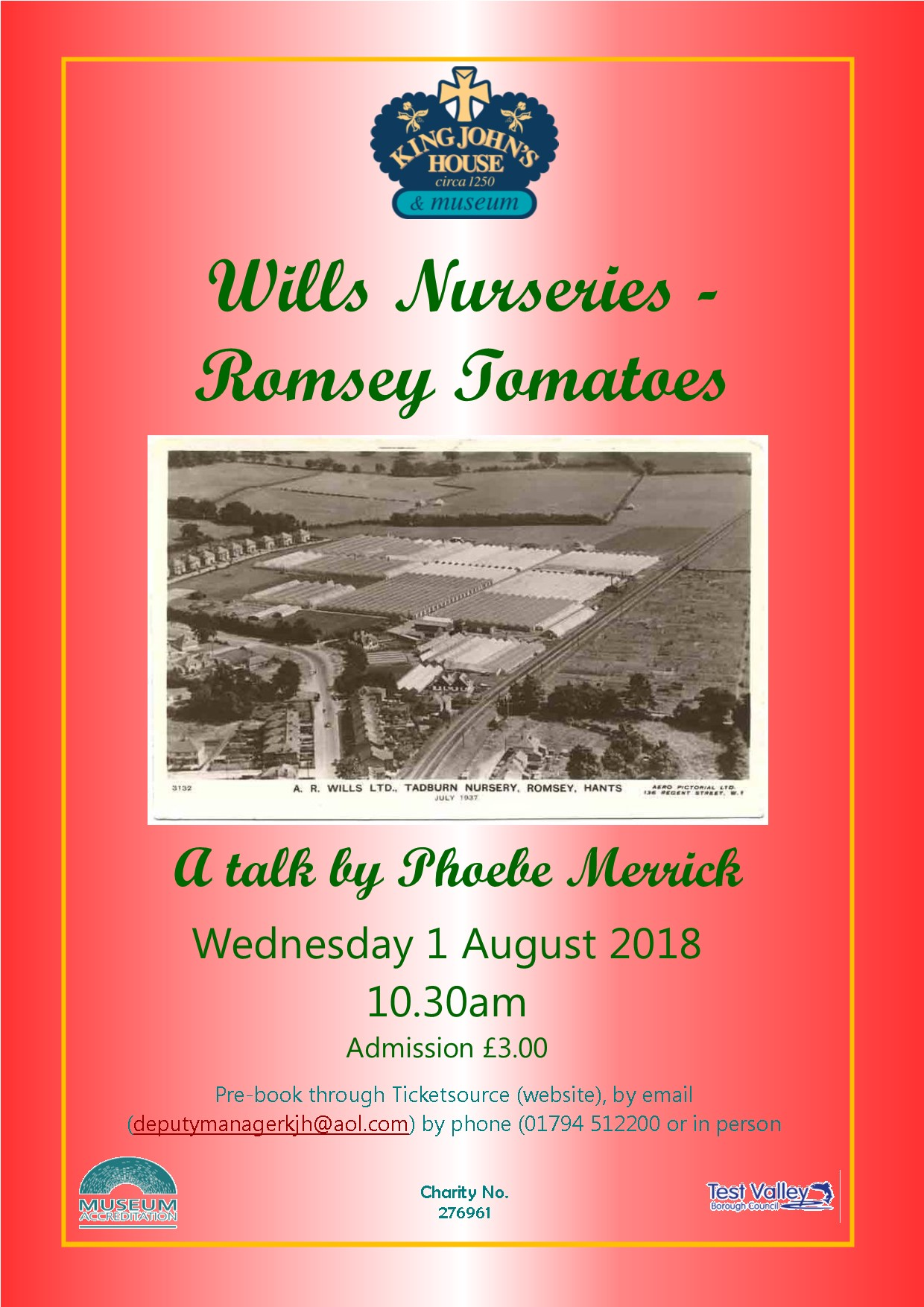 Wills Nurseries, Romsey Tomatoes