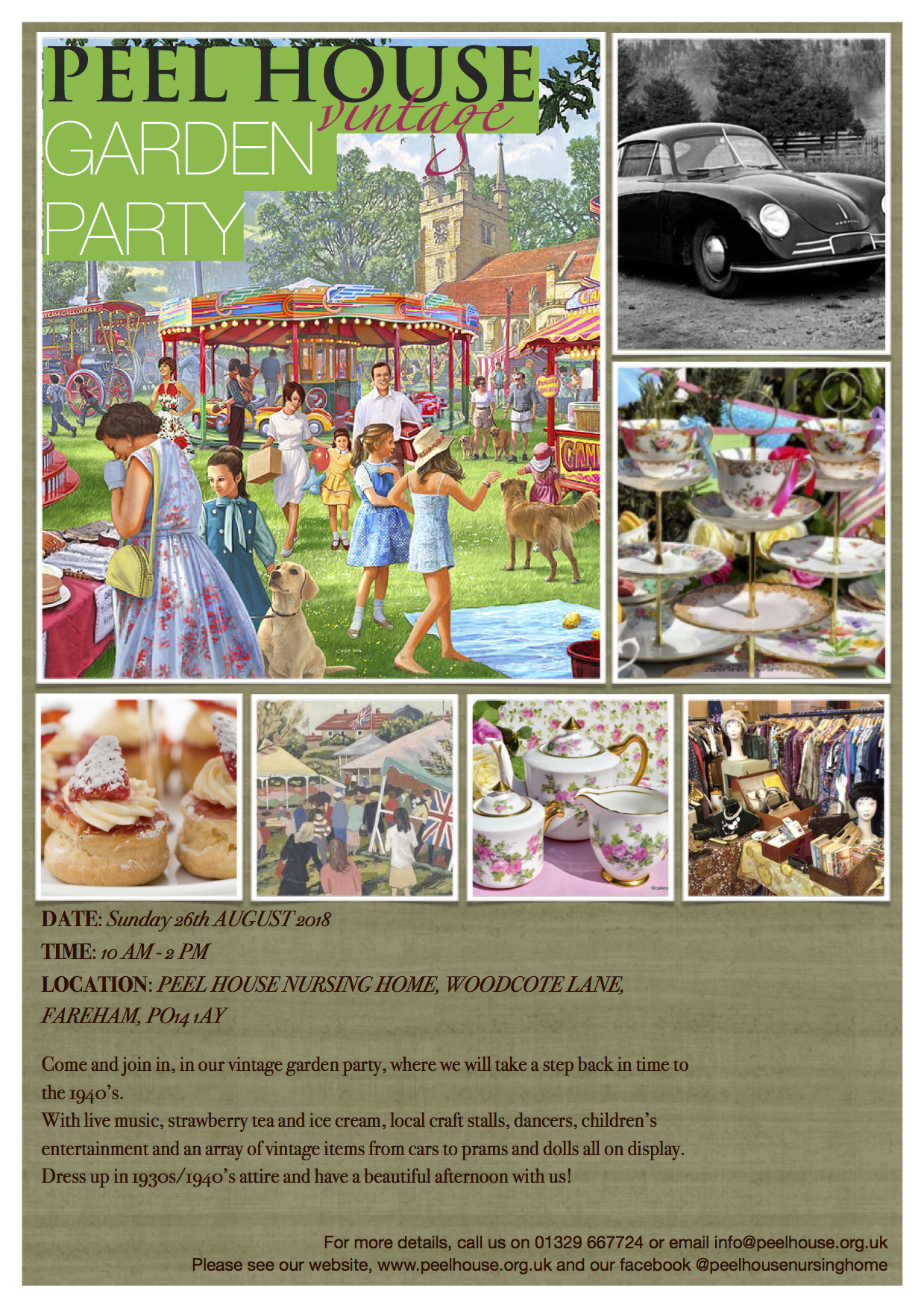 Peel House Vintage Garden Party