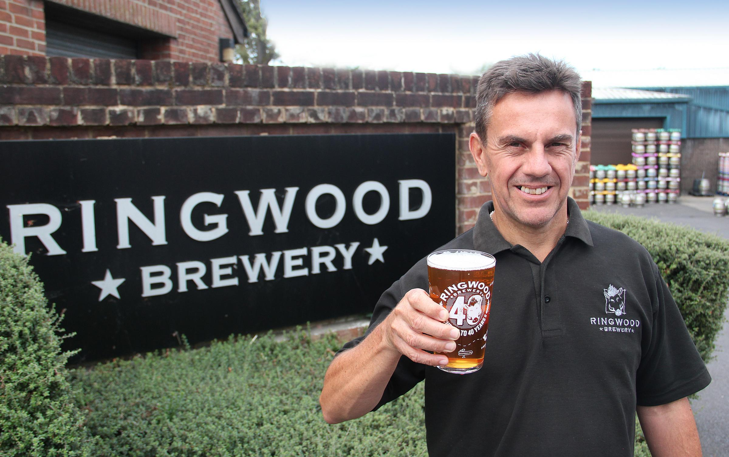 Maurice Walton, the new head brewer at Ringwood Brewery.