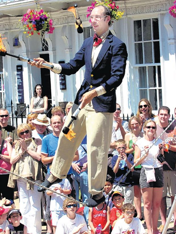 Winchester Hat Fair attracts thousands of visitors to the city every year