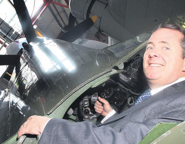Former Secretary of State for Defence Dr Liam Fox visits Winchester next month to discuss a number of political issues