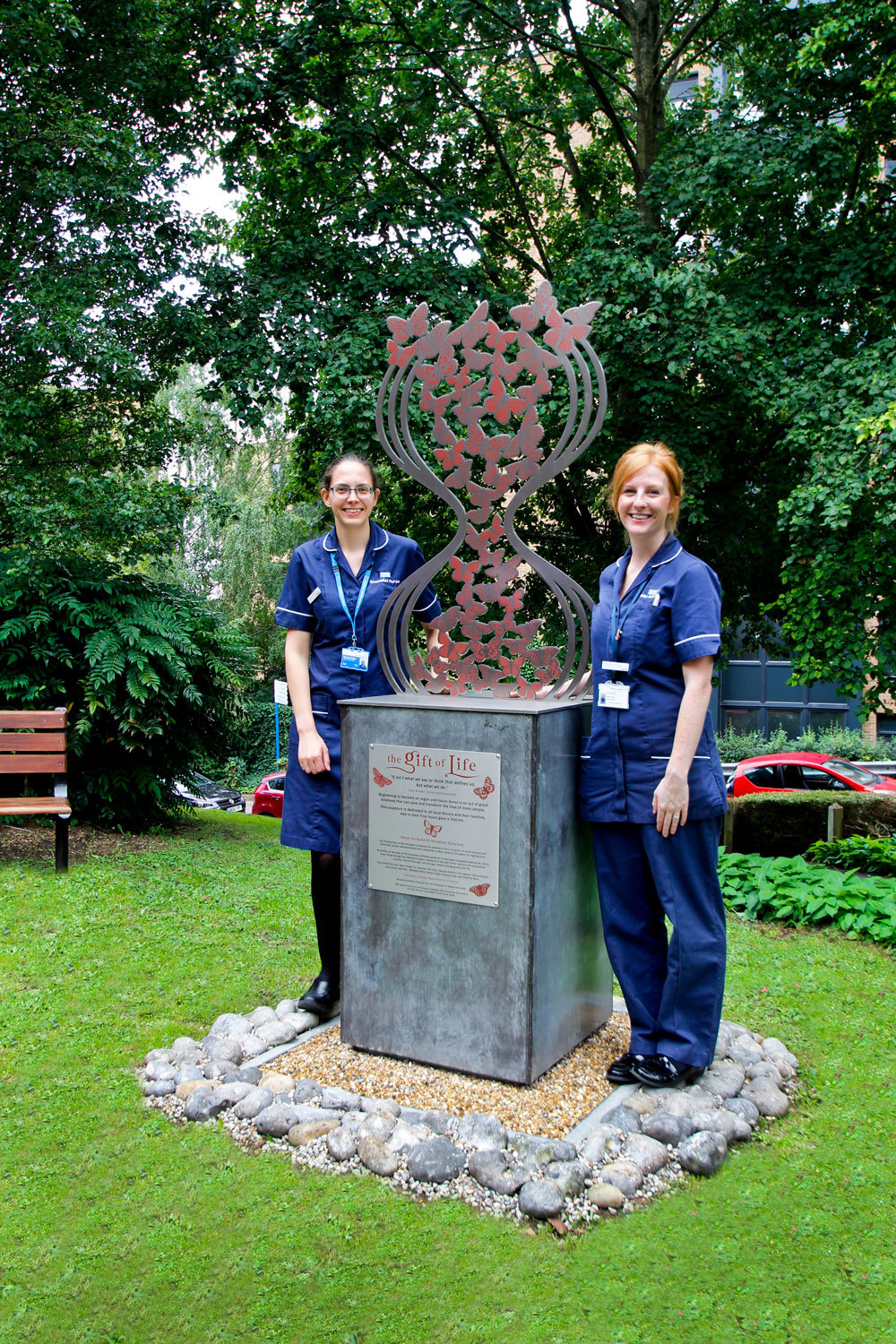 An Hourglass of Butterflies, Royal Hampshire County Hospital