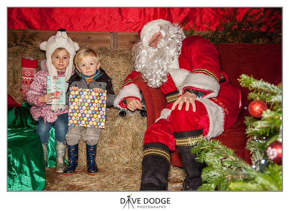 Father Christmas at Furzey Gardens