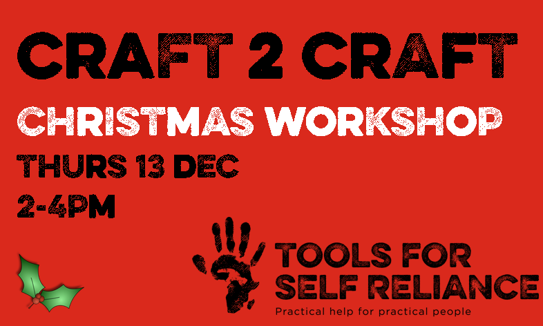 Craft 2 Craft Christmas door hanging workshop