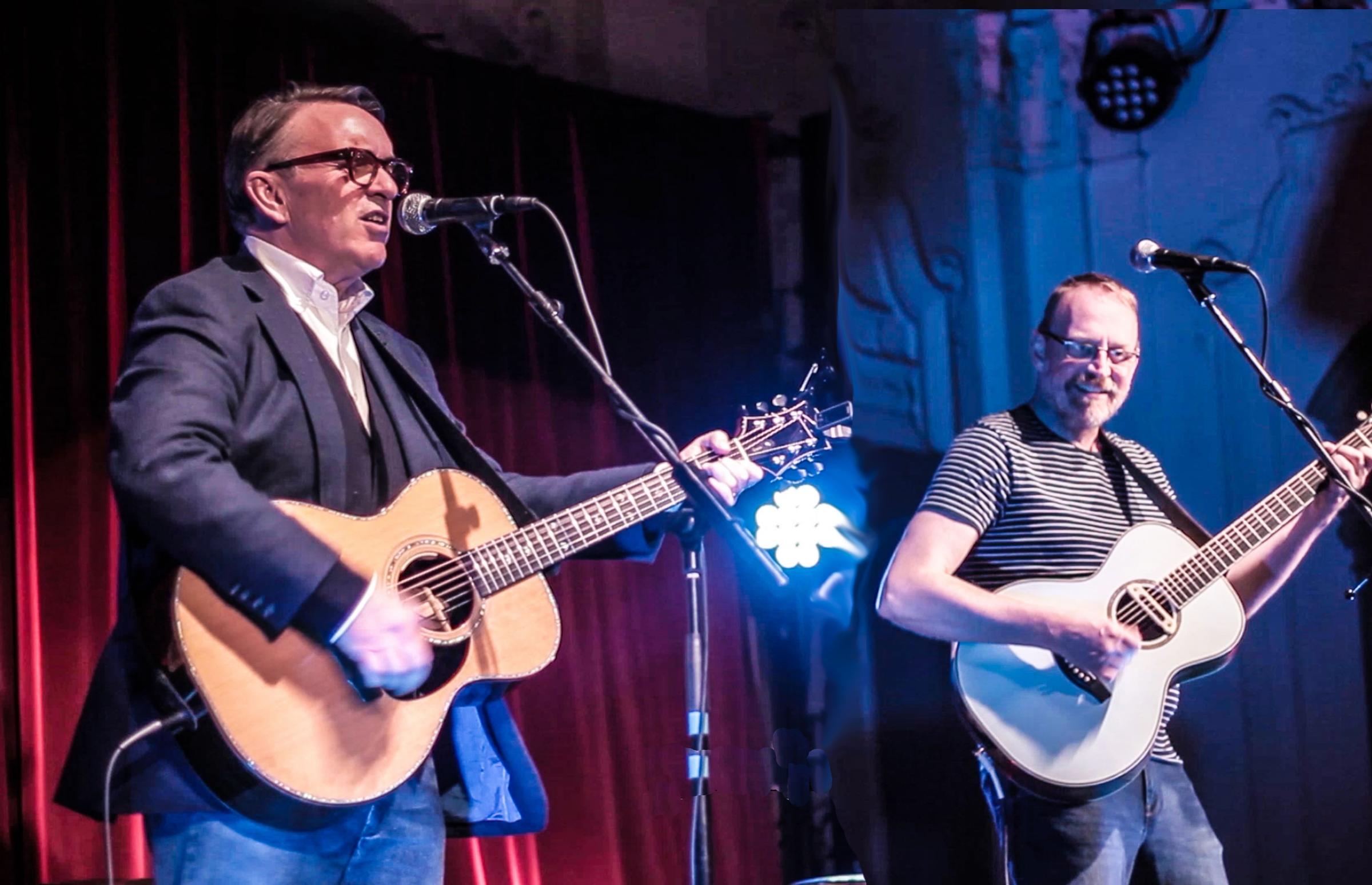 Chris Difford and Boo Hewerdine