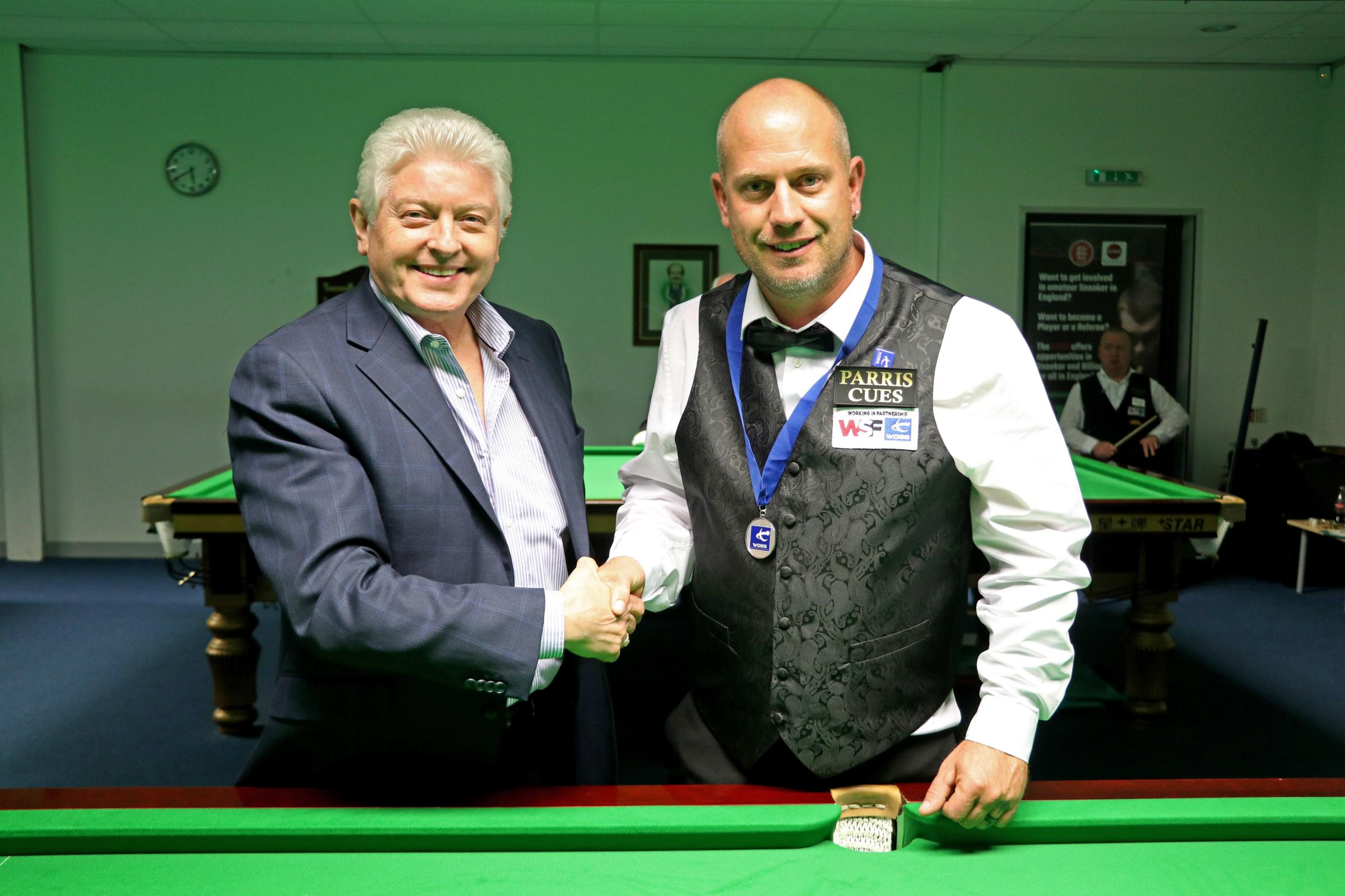 John Parris and Dave Moore (Picture by Matt Huart WPBSA)