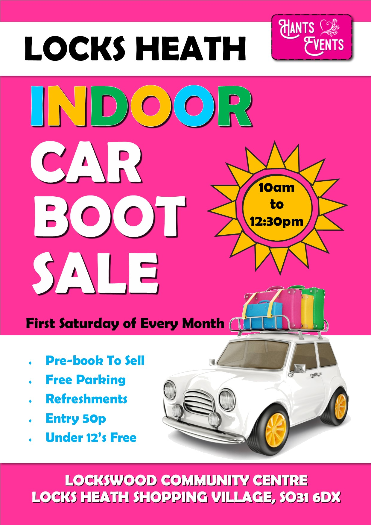 Locks Heath Car Boot Sale
