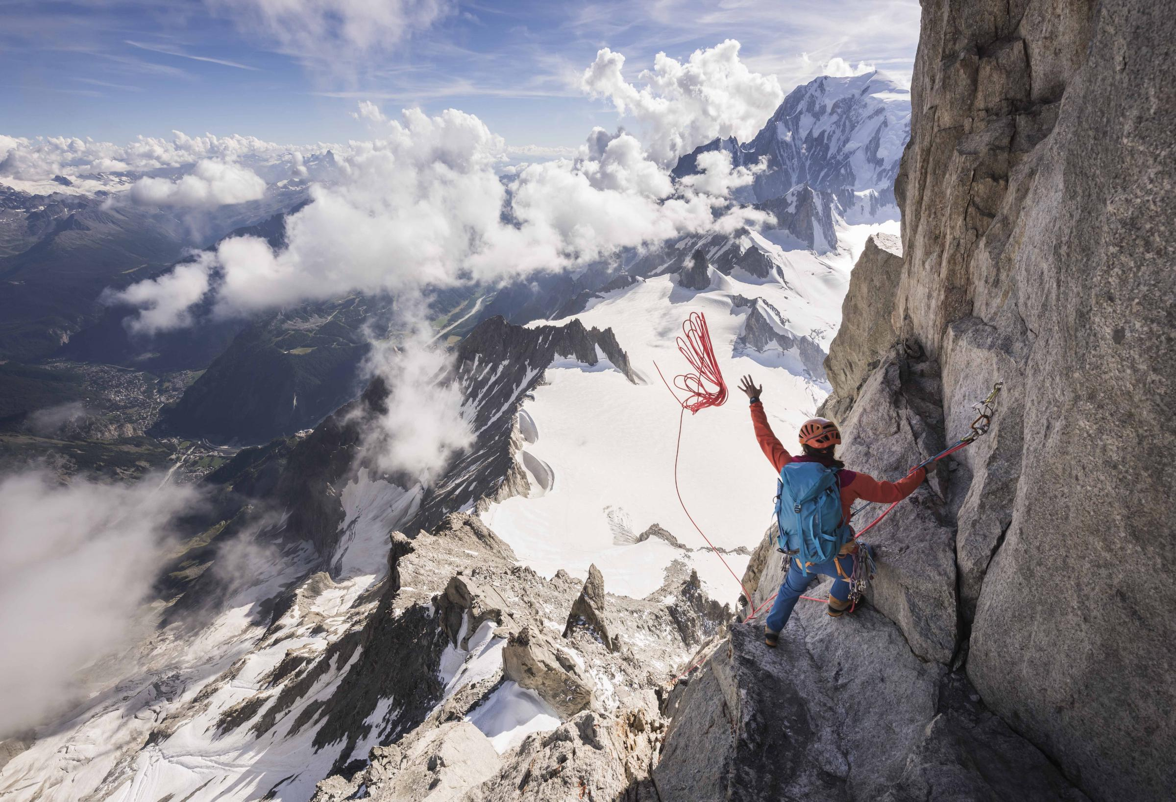 Experience dizzying highs at the Banff Mountain Film Festival tour. Picture: Ben Tibbetts