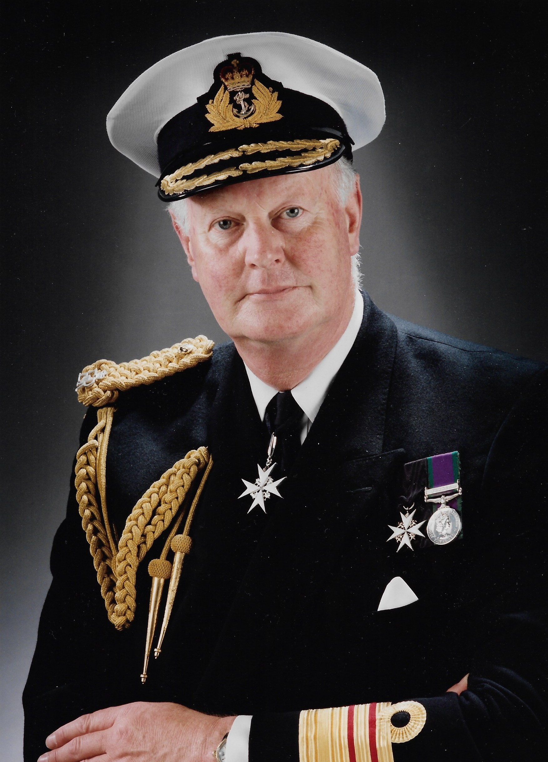 Vice-Admiral Anthony Revell