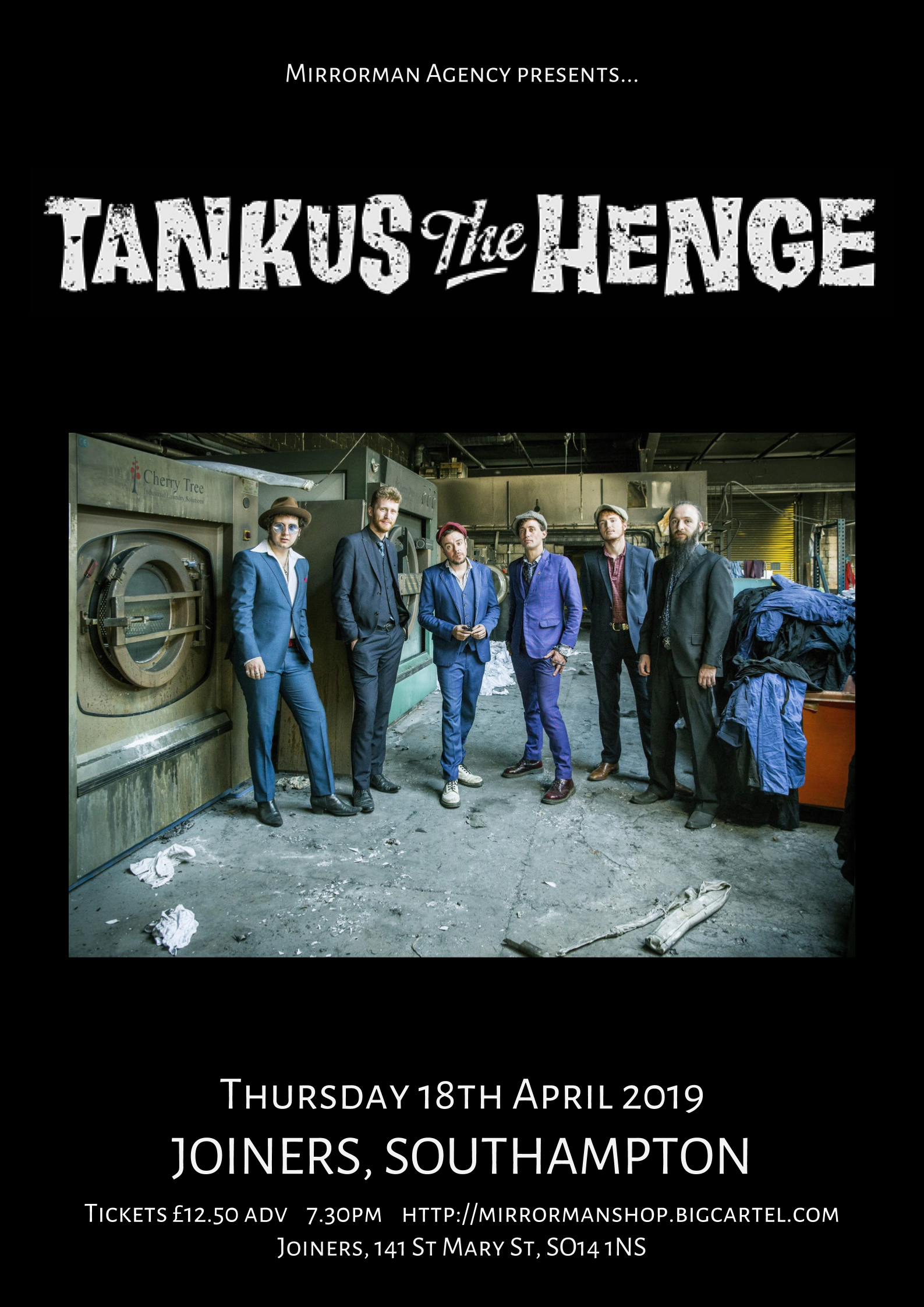 Tankus The Henge at Joiners, Southampton