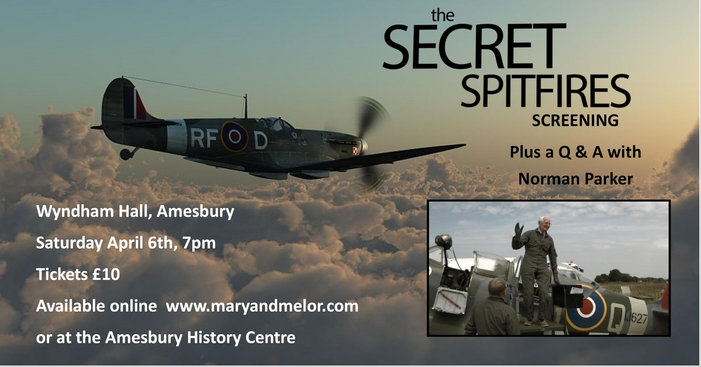 Secret Spitfires Screening and Q&A with Norman Parker