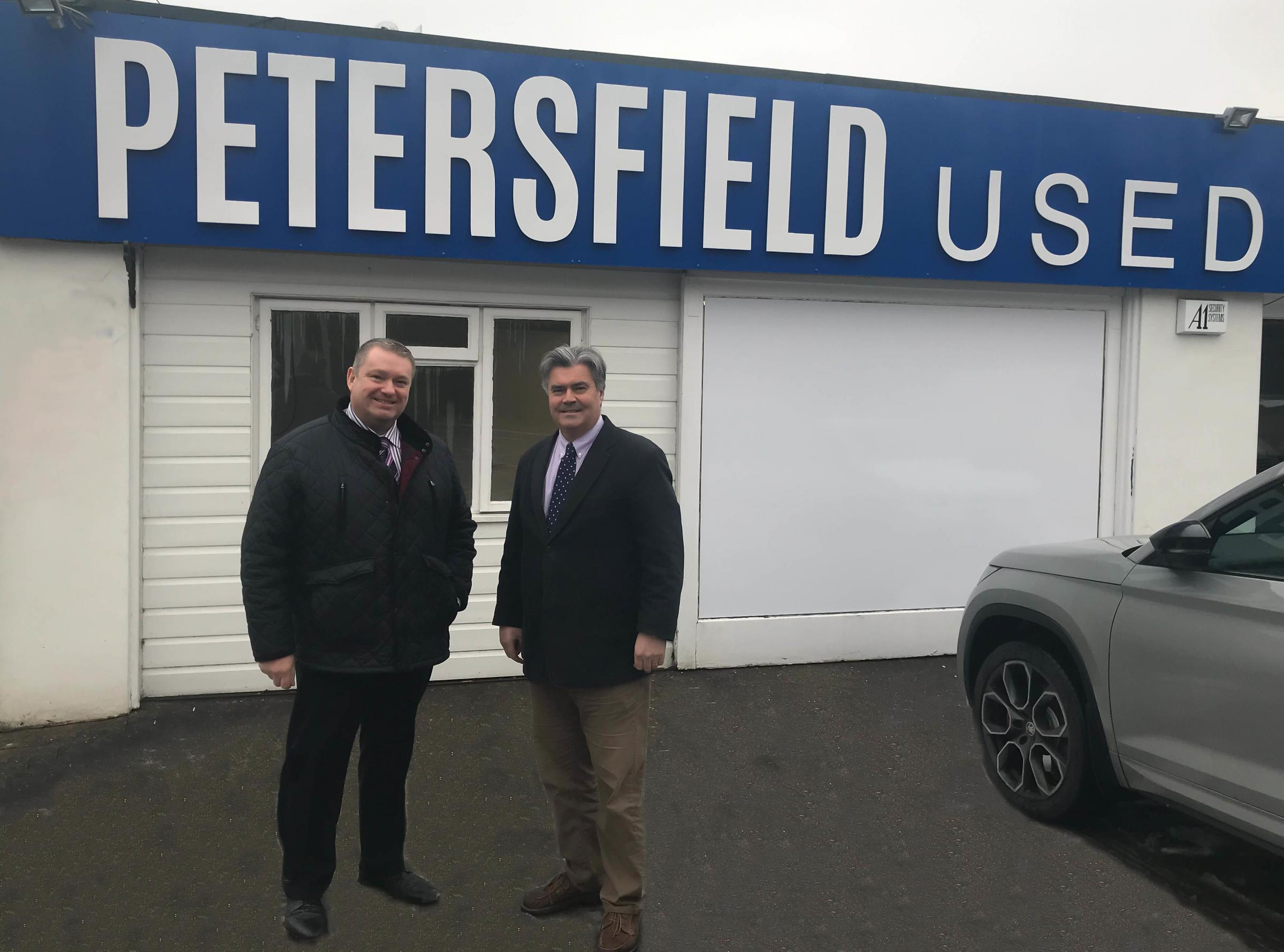 Winchester Motor Group expand into Petersfield