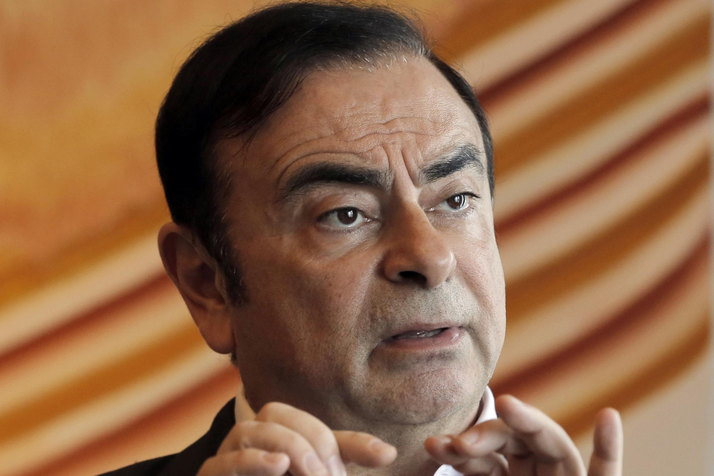 Carlos Ghosn, as Renault said a company investigation had found he personally benefited from