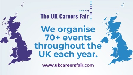 The UK Careers Fair in Portsmouth 10th April