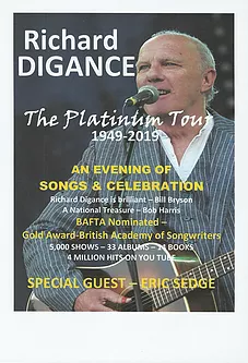Richard Digance on Tour